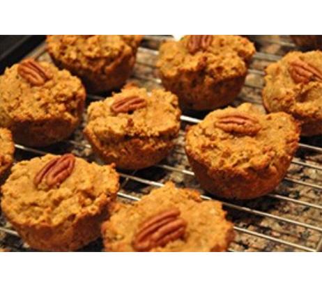 Low Carb Pumpkin Muffins